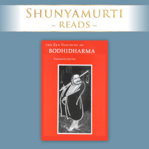 Shunyamurti Reads: Bodhidharma