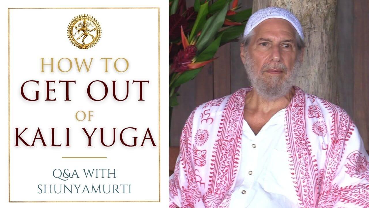 How Consciousness Morphs through the Yugas