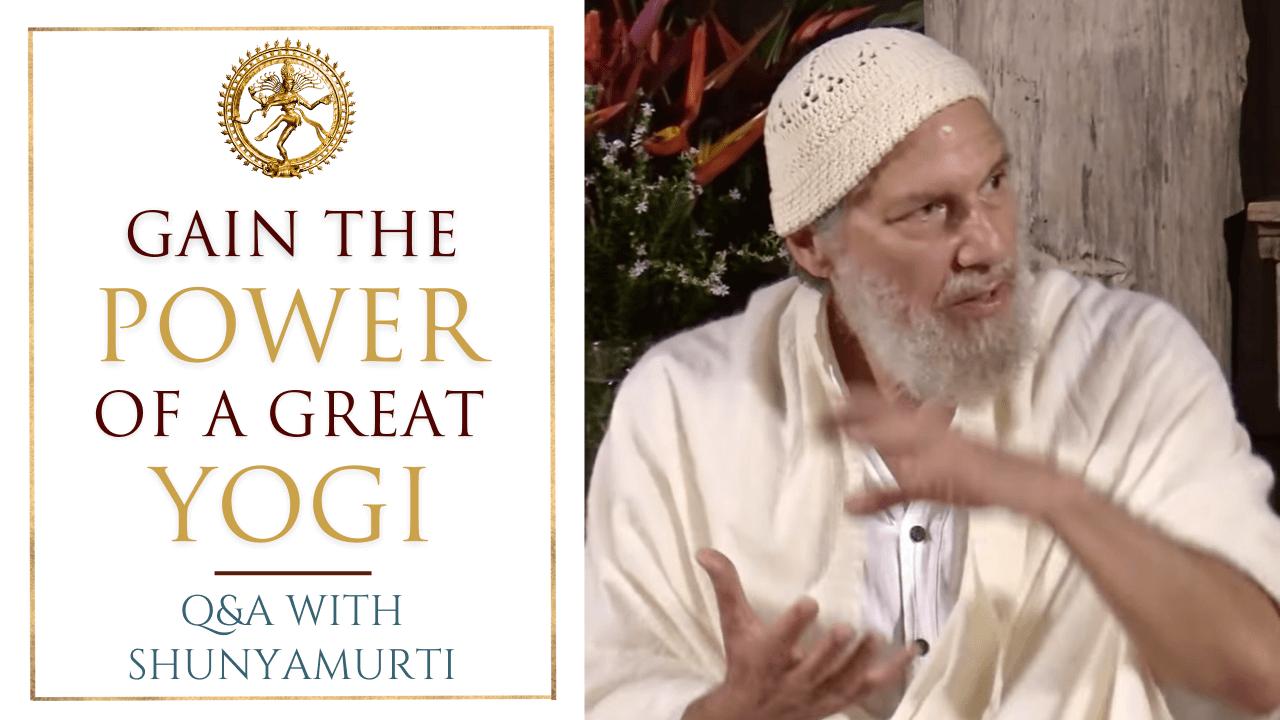A Maha Yogi Can Change the World